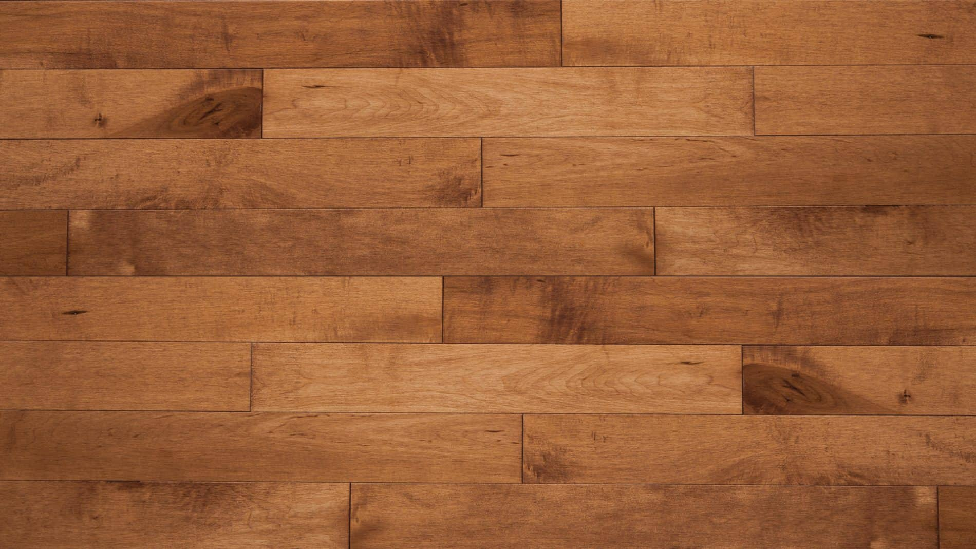 Hard maple apricot dubeau floors for Hard floor tiles
