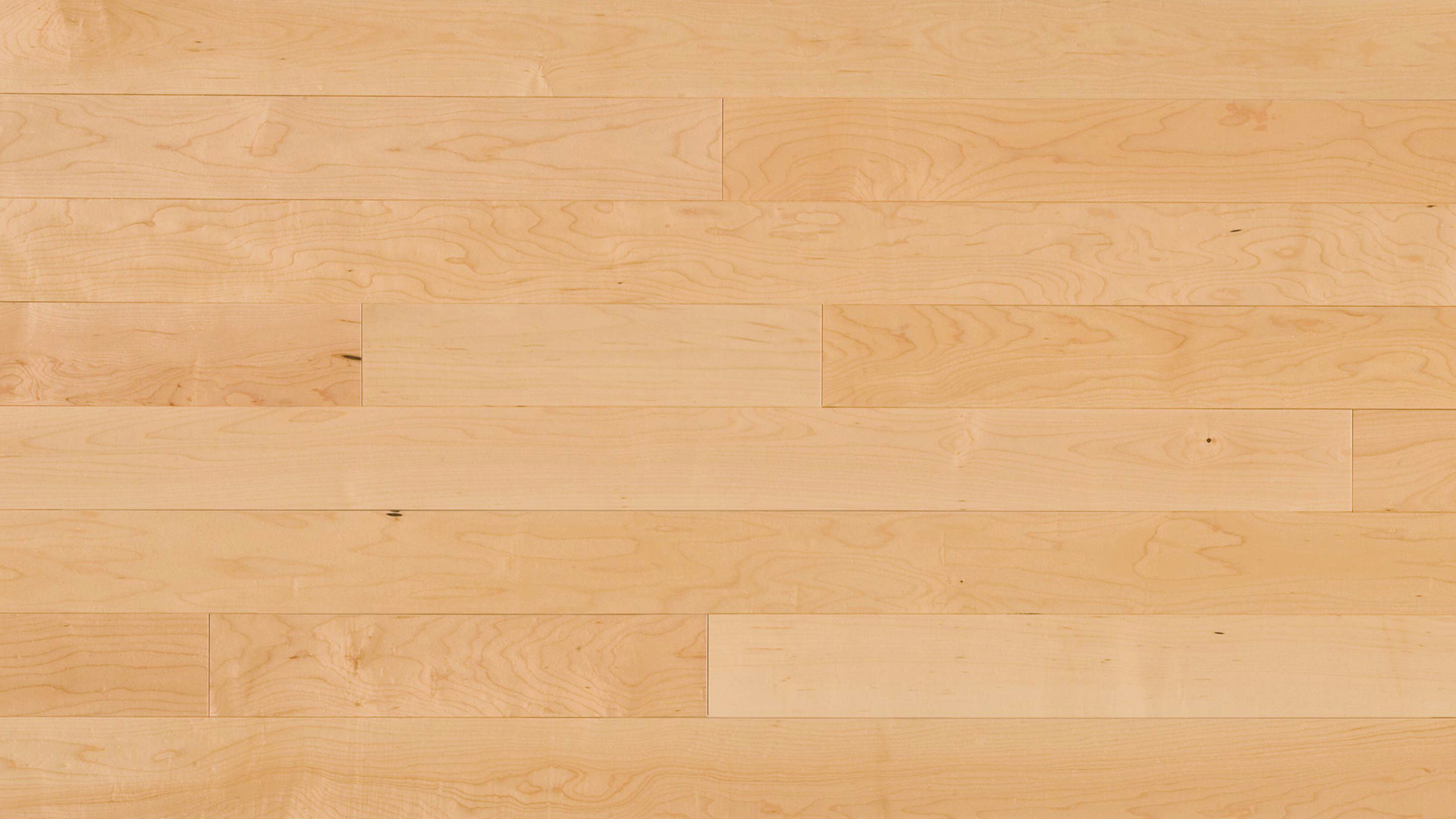 Hard maple select and better natural dubeau floors for Natural floors