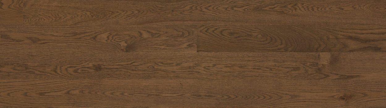 Hardwood floor | Red oak wire brushed coffeum