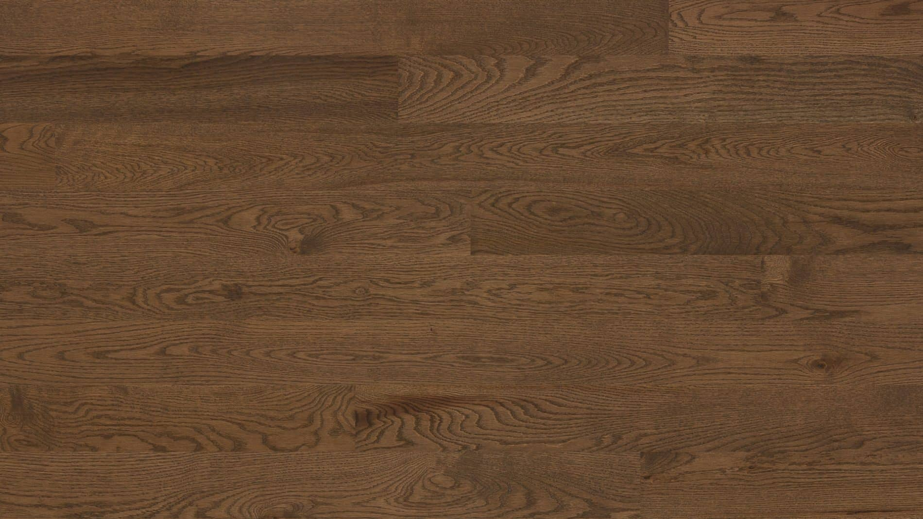 Hardwood floor | Red oak wire brushed coffeum