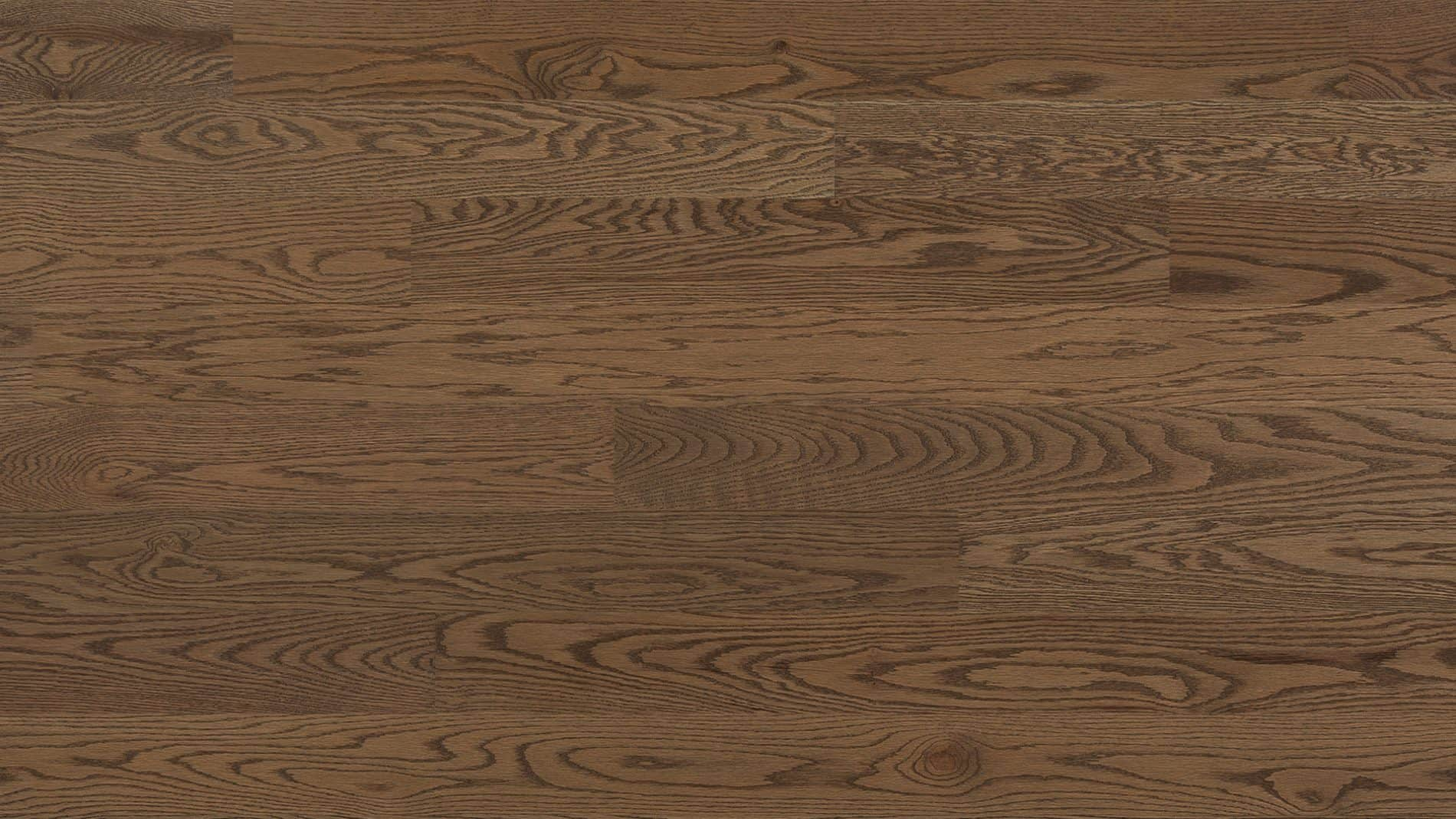 Hardwood floor | Red oak wire brushed stone