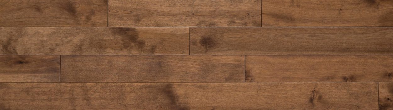 Hardwood floor | Yellow birch nougatine