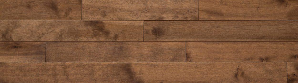 Hardwood floor | Yellow birch nougatine