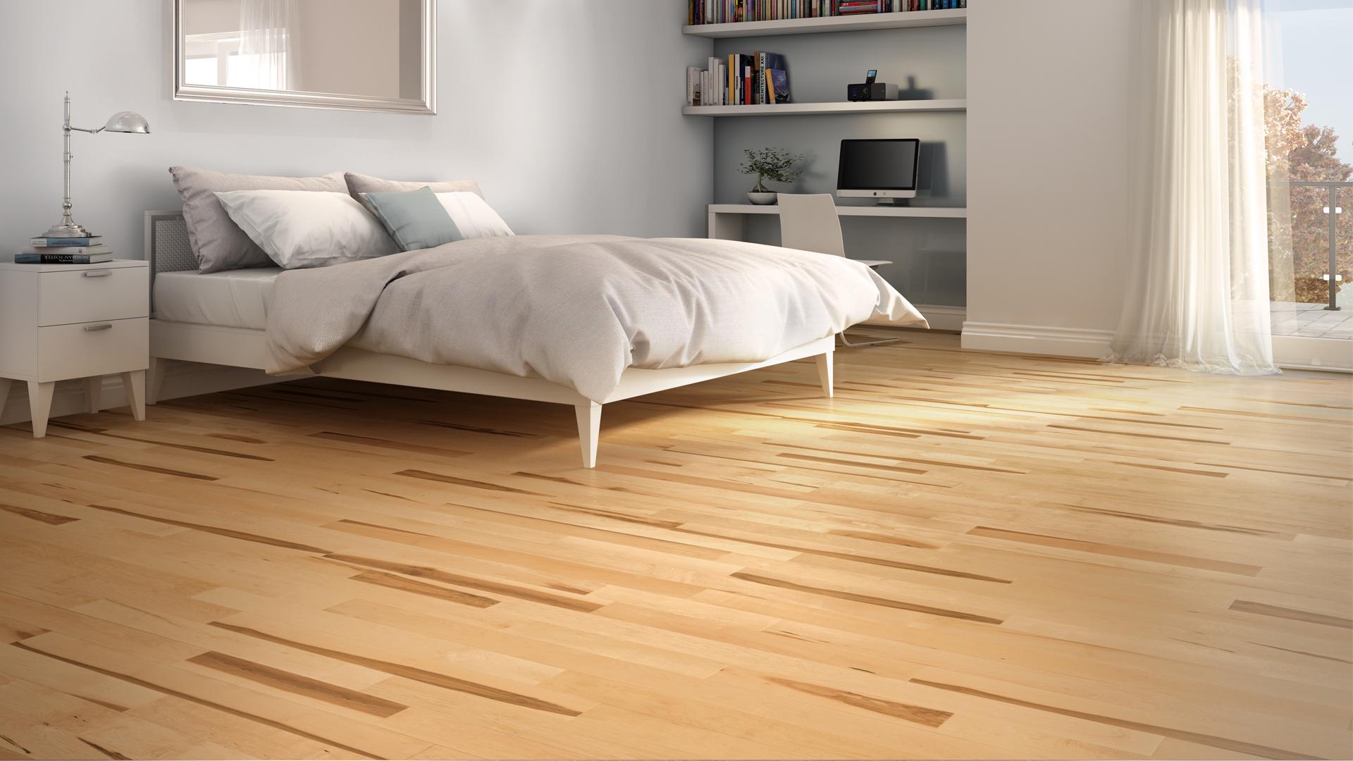 ... Hard Maple Natural | Dubeau Hardwood Floors | Bedroom Decor